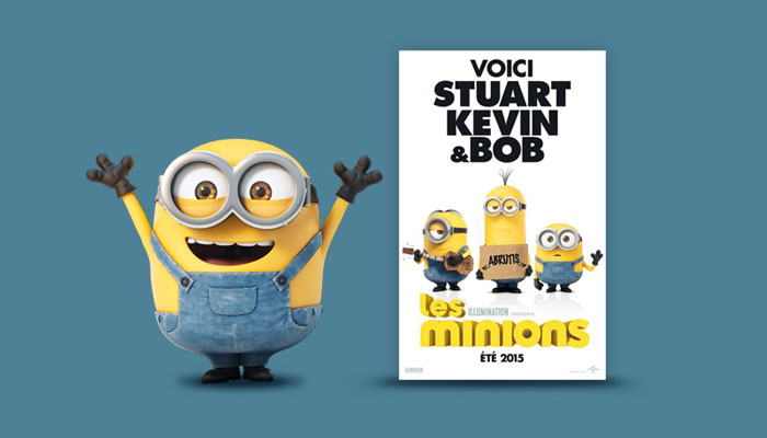 Brossard-licence-Les-Minions-affiche