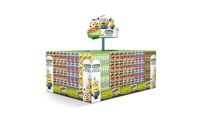 Agence Rangoon Nestlé Céréales Minions
