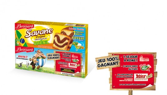 Rangoon|Savane Brownie|Licence Astérix-packaging