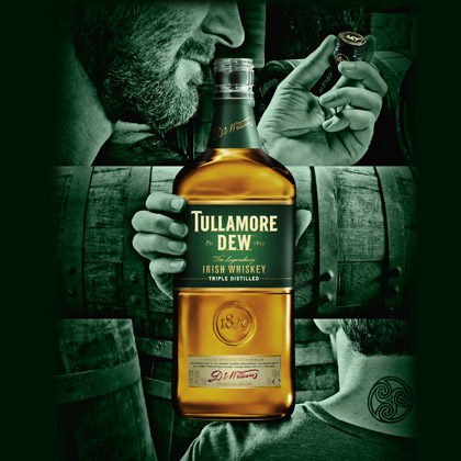 Agence communication Rangoon - promotion des ventes ventes animations shopper Tullamore Dew St Patrick