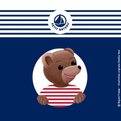 Agence communication Rangoon - promotion des ventes shopper marketing partenariat Petit Bateau x Petit Ours Brun