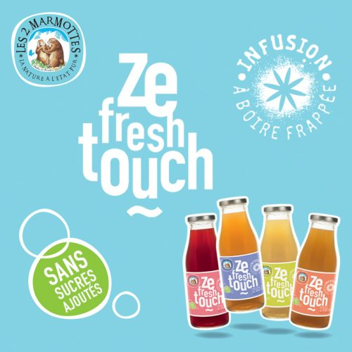 Agence communication Rangoon - shopper marketing street social media Les 2 Marmottes Ze Fresh Touch