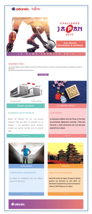 Agence Rangoon Atlantic Newsletter Février 2019