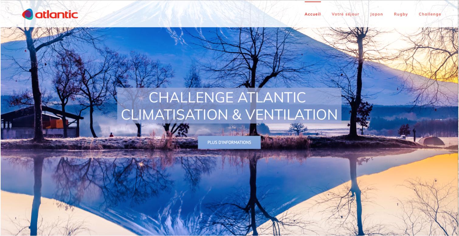 Agence Rangoon Atlantic Bannière challenge Newsletter 2019