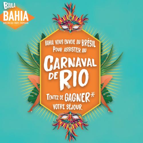 Agence communication Rangoon - promotion des ventes shopper marketing theatralisation eu concours Bahia Drink Alterfood