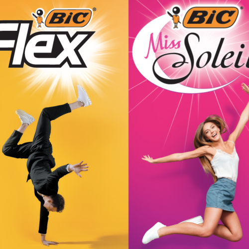 Agence communication Rangoon - promotion des ventes shopper marketing theatralisation jeu concours Bic Flex rasage