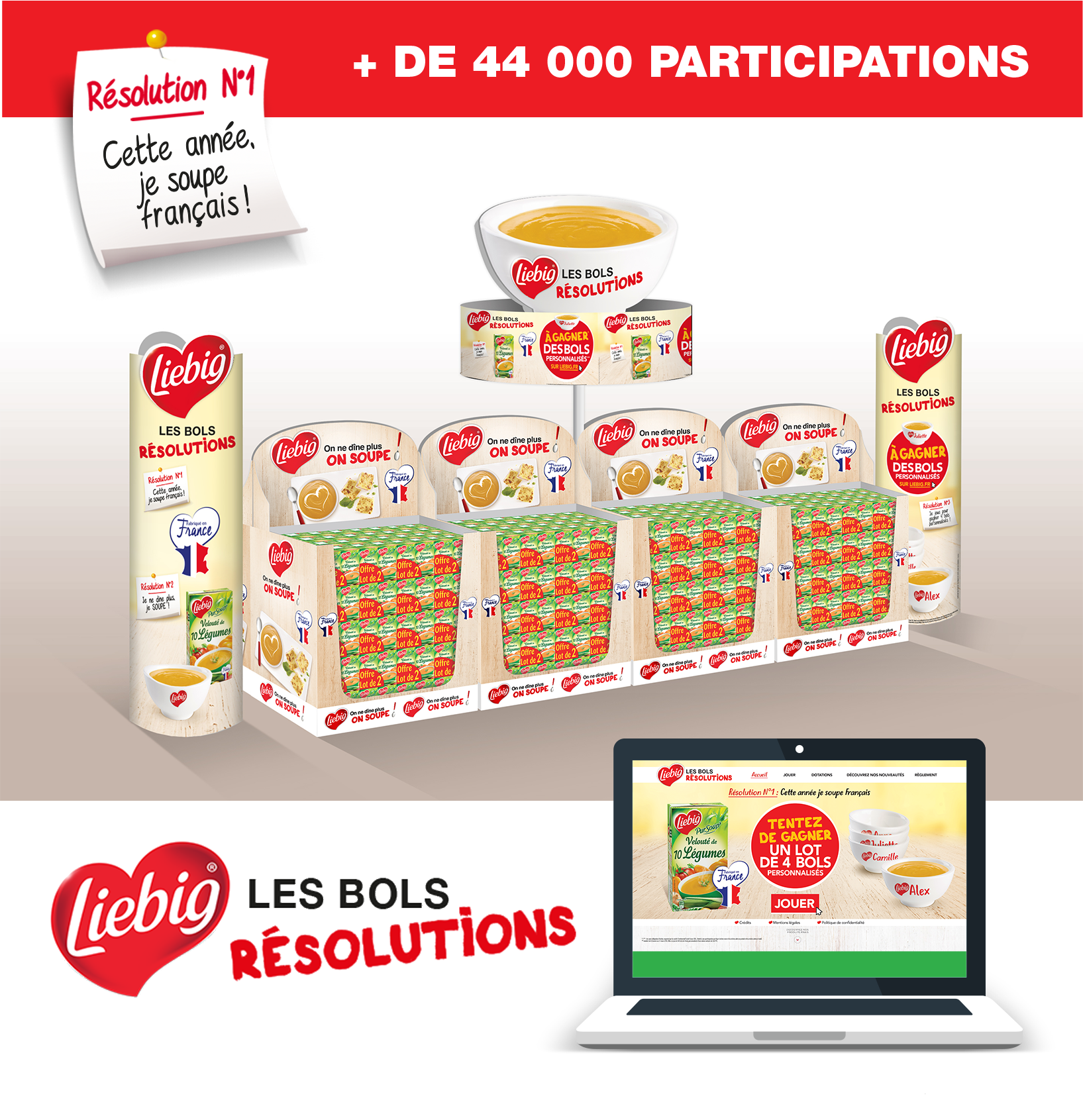 Agence communication Rangoon - promotion des ventes Liebig
