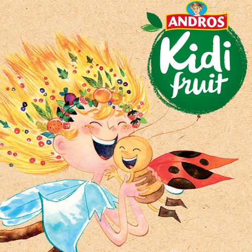 Agence communication Rangoon - marketing relationnel social media home marketing influence lancement Andros Kidifruit
