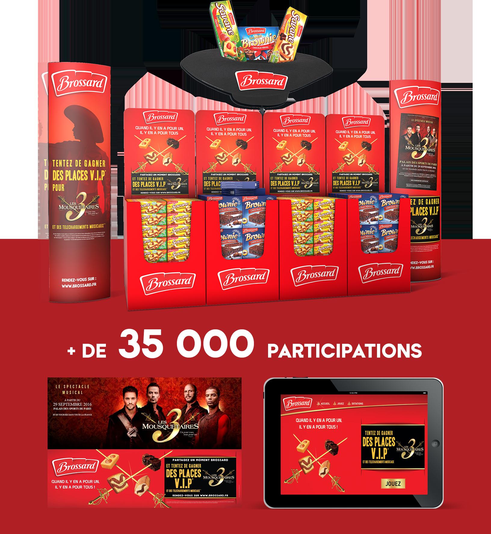 Agence communication Rangoon - shopper marketing home marketing Jacquet Brossard Savane Brownie licencing Les 3 Mousquetaires