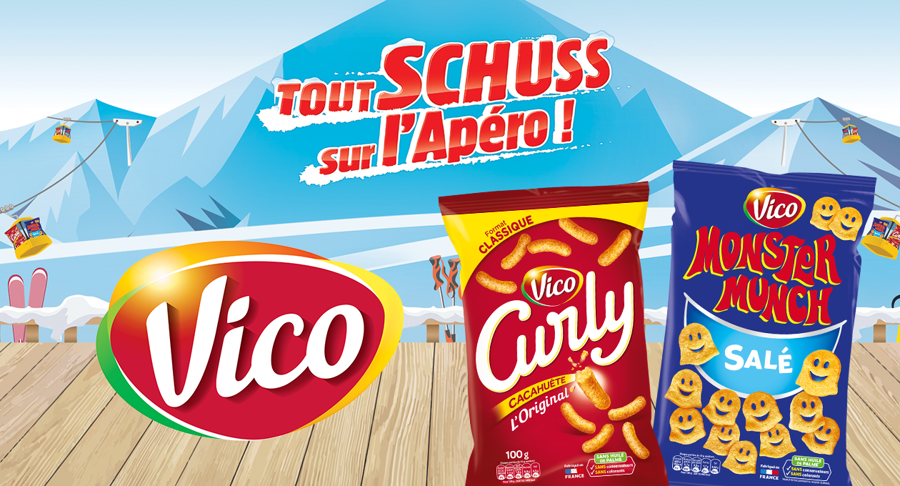 Agence communication Rangoon - promotion des ventes shopper Monster Munch Curly Vico