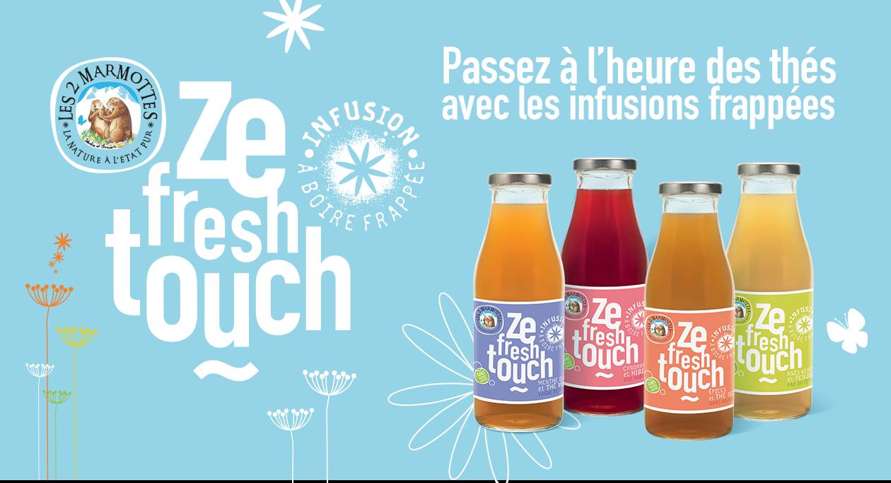 Agence communication Rangoon - shopper marketing street social media Les 2 Marmottes Ze Fresh Touch