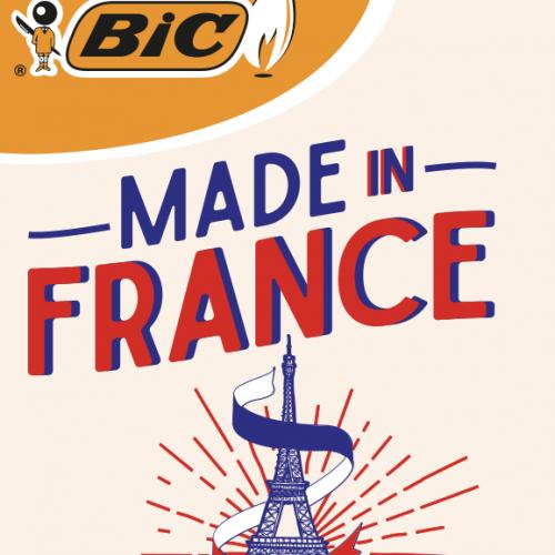 Agence communication Rangoon - identité visuelle animation réseau buraliste collection design serie limitée Briquet Bic Made In France
