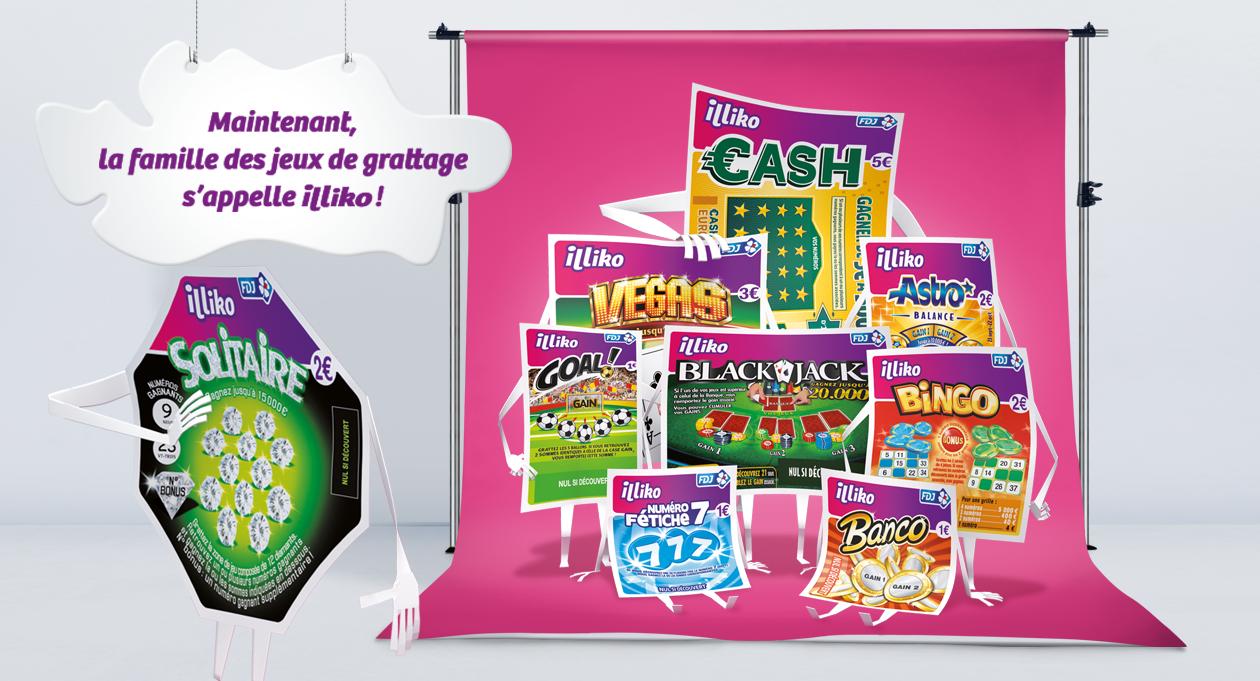 Agence communication Rangoon - communication commerciale lancement 360 Illiko tickets de grattage Francaise Des Jeux