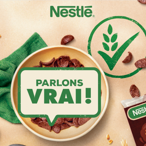 Agence communication Rangoon - shopper marketing cereales Nestle engagement solidaire meilleure remuneration agriculteur